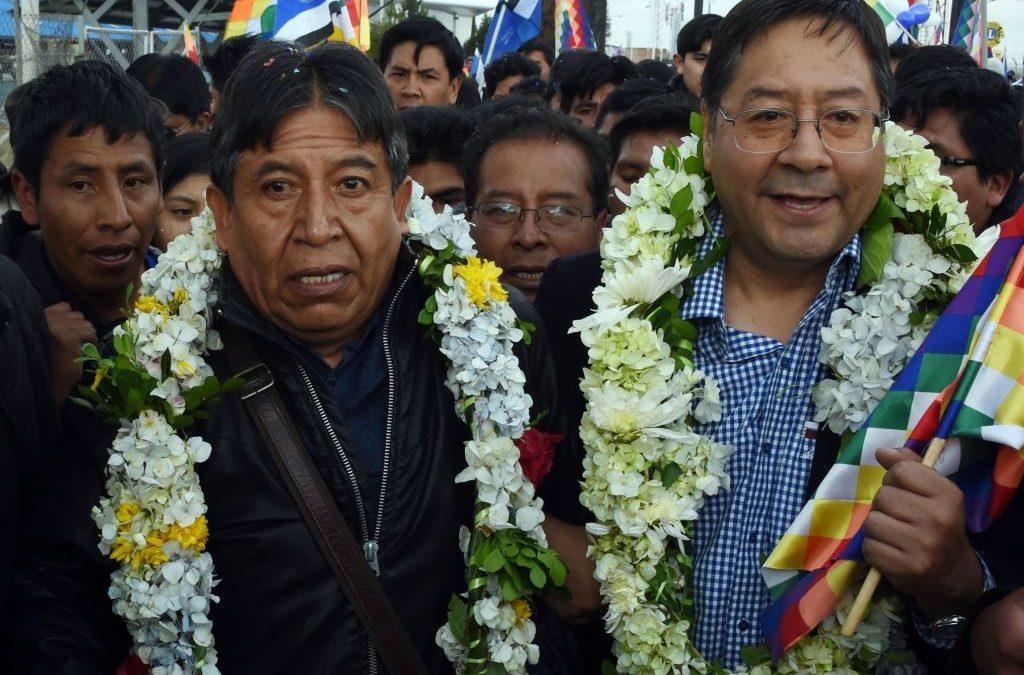¡VERGÜENZA! Candidatos del MAS se aprovechan del coronavirus para hacer campaña política
