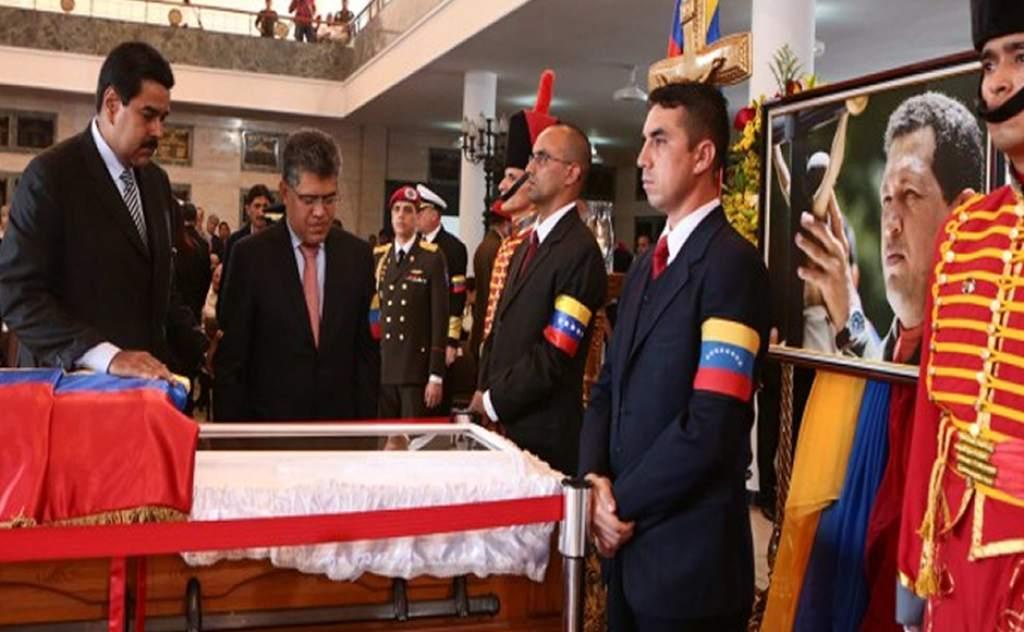 Líderes del oficialismo fortalecieron su lealtad en conmemoración de la muerte de Chávez