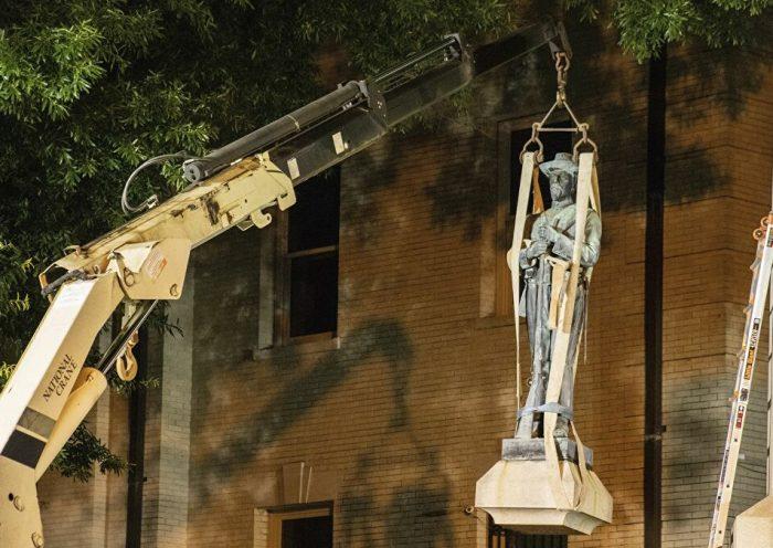 Trump autorizó arrestos a  vándalos que destruyan monumentos con hasta 10 años de prisión