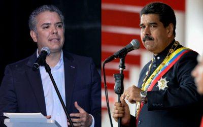¿VENCIDO? Maduro le pidió ayuda a Iván Duque para trabajar juntos contra la pandemia
