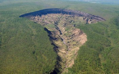 Por esta razón crece cada vez más rápido el cráter «Puerta al Infierno» de Siberia