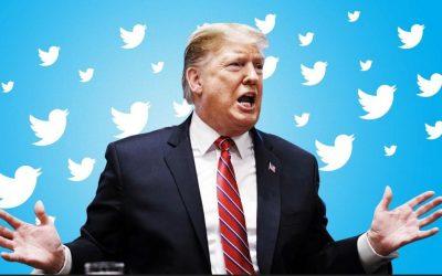 Twitter restringió temporalmente la cuenta de Donald Trump