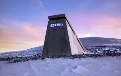 Oreo construyó en Noruega un poderoso búnker para proteger sus galletas del asteroide 2018 VP1 (VIDEO)