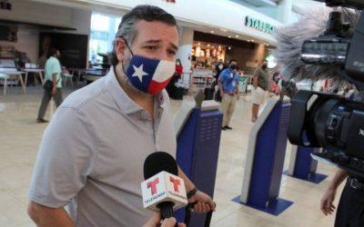 Critican al senador de Texas Ted Cruz por viajar a Cancún mientras su estado se congela