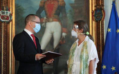 Gobierno de Maduro expulsó a la embajadora de la Unión Europea en Venezuela