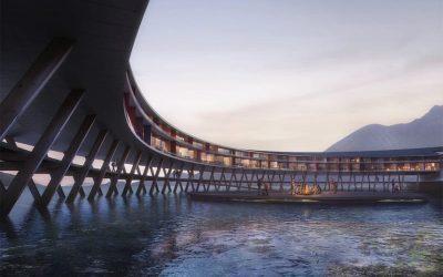 ¡PROYECTO AMBICIOSO! Este es Svart, el hotel más sustentable del mundo que abrirá sus puertas en Noruega (FOTOS)