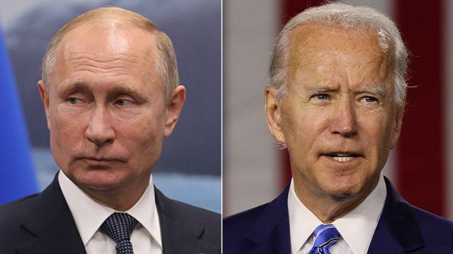 Biden habló con Putin y le instó a «desescalar» la tensión en su frontera con Ucrania