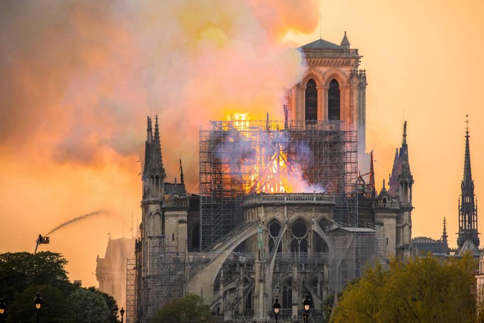 Hoy se cumplen dos años del incendio de Notre Dame: cómo van los trabajos de reconstrucción (FOTOS)