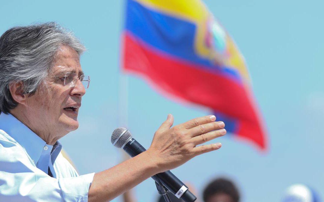 Guillermo Lasso fue electo presidente de Ecuador tras vencer a Andrés Arauz