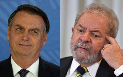 ¡EMPATE TÉCTINO! Bolsonaro y Lula da Silva tienen una estrecha diferencia de cara a las elecciones de Brasil en 2022