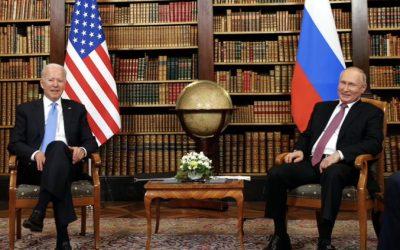 ¡ENCUENTRO CONSTRUCTIVO! Putin y Biden se reunieron este miércoles en la cumbre de Ginebra