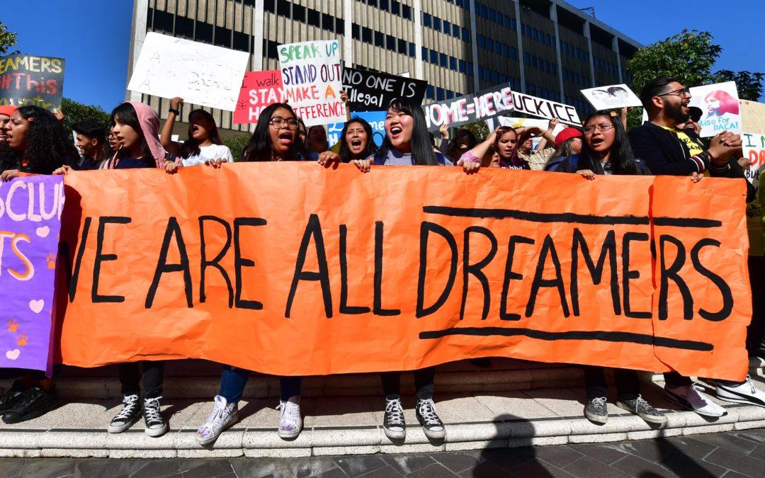 ¡DE ACUERDO! El 70% de los estadounidenses apoya que los «dreamers» reciban la ciudadanía