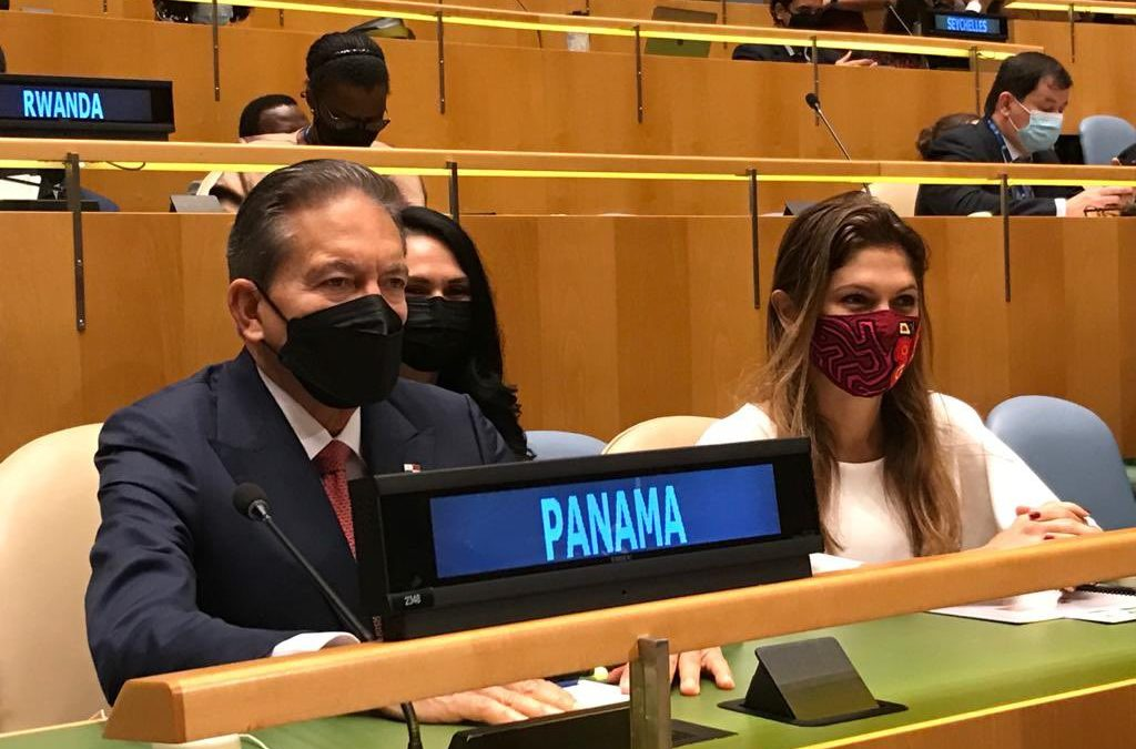 Laurentino Cortizo llegó a Nueva York para participar en la Asamblea General de la ONU