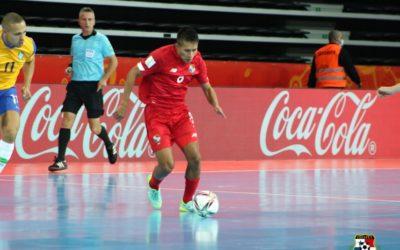 ¡DERROTA! Panamá se despide del mundial de Futsal tras perder ante Brasil