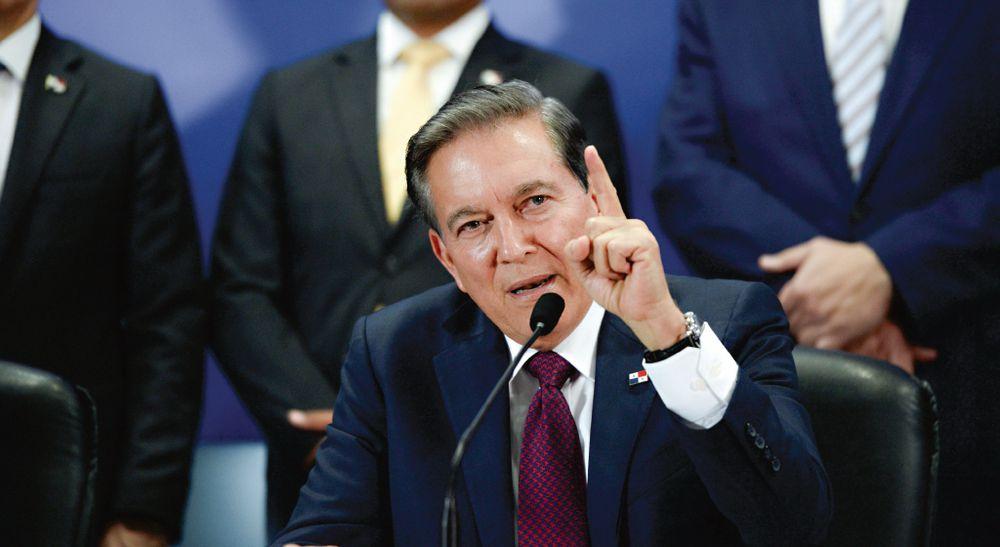 Presidente Cortizo vetó parcialmente el proyecto de ley 544